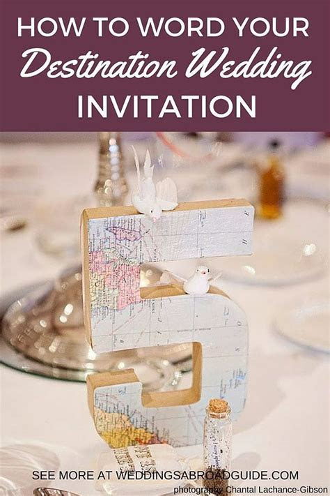 14 best wedding abroad invitaions images on Pinterest