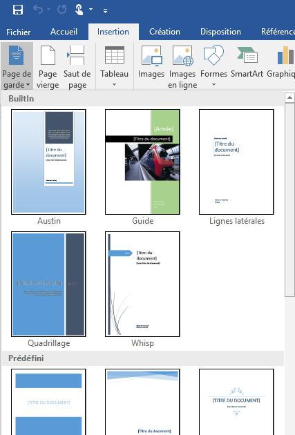 Exemple Mise En Page Rapport De Stage Word - Exemple de Groupes