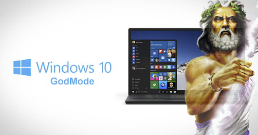 How To Enable GodMode In Windows 10 | Redmond Pie