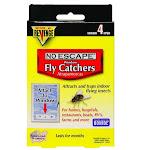 Bonide 46200 Revenge No Escape Window Fly Catchers, 4-pack