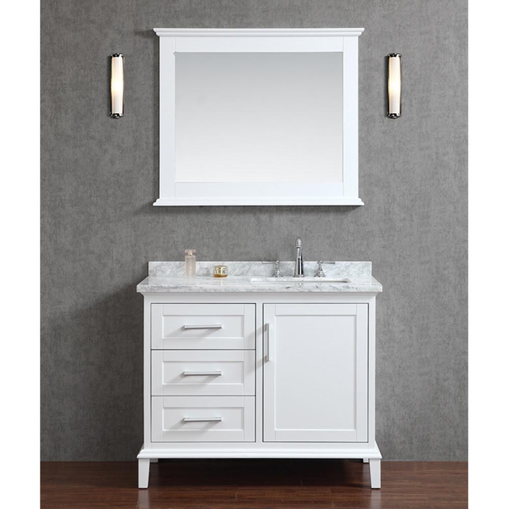 "Seacliff by Ariel Nantucket 42"" Single Sink Bathroom ..."