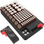 Zerodark Battery Organizer with Removable Battery Tester