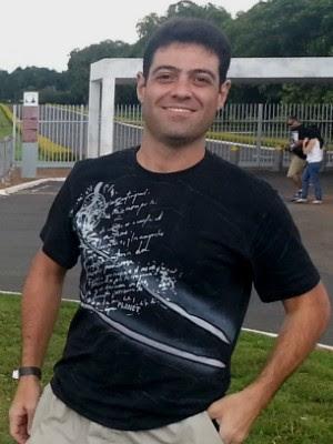 Daniel Magalhães Hopf está desaparecido desde a madrugada de quinta (Foto: Arquivo Pessoal)