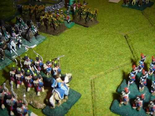 Renewed effort against the English near Hougomont