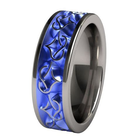 1000  images about Titanium Wedding Bands on Pinterest