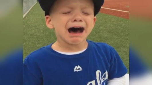 WATCH: Young Royals fan sobs after seeing Alex Gordon injured