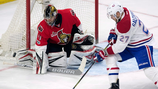 Habs take 1st half of home-and-home series with Senators