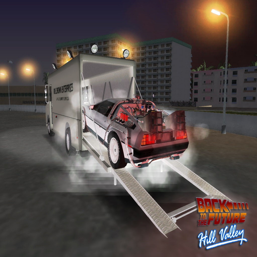 Back To The Future Hill Valley Mod For Grand Theft Auto