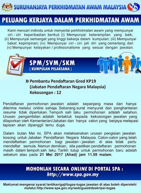 Jawatan Kosong Di Spa Kedah 2018 Jawat Kos