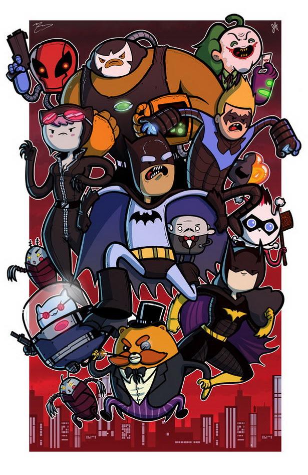 Batman versión Hora de Aventuras