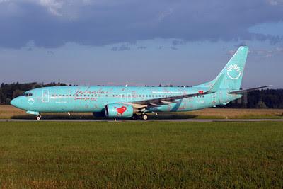 SunExpress Airlines Boeing 737-8HZ WL TC-SUZ (msn 29649) (Impressions of Istanbul) ZRH (Rolf Wallner). Image: 908608.