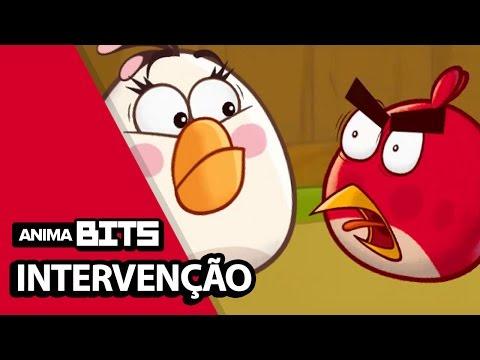 Intervenção Angry Birds - AnimaBITS