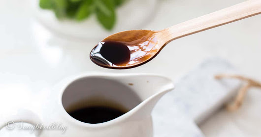 Balsamic syrup recipe ~ too easy, too yummy, so delicious - Songbird