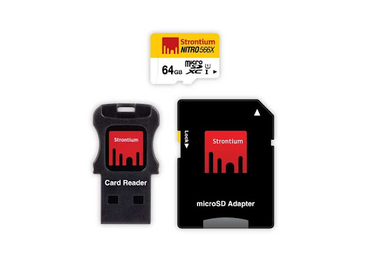 64 GB MicroSDHC UHS-1 Nitro 566X Card - TechPlugged