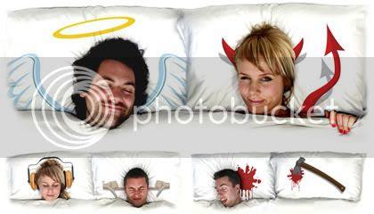 Travesseiros criativos
