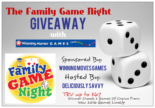 Family Game Night {Giveaway} - Life Breath Present