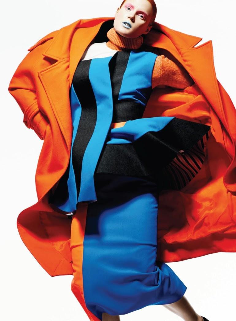 Ashtyn Franklin 'Flashdance' By Moo For Elle Canada 3