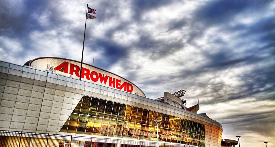 Image result for arrowhead stadium
