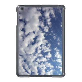 Puffy Clouds On Blue Sky Case For iPad Mini