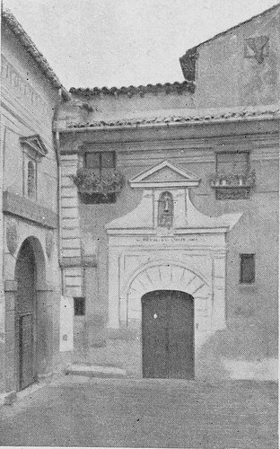 Iglesia de San Cipriano a inicios del siglo XX