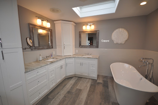Bathroom Designed and Built by Gappsi in East Islip NY