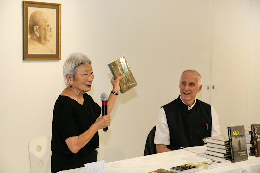 Cambria Press Book Launch at iPreciation with Mabel Lee, Shen Jiawei, and Victor Mair