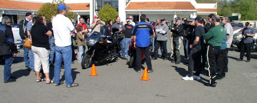 Coach Seminar on road hazards at A&S Powersports – Superbike-Coach Corp
