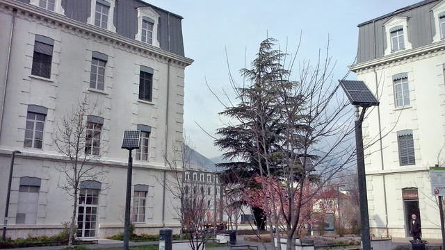 La energía solar, otra apuesta en Grenoble