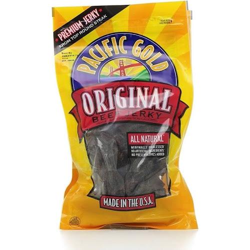 Pacific Gold Beef Jerky, Original - 2 pack, 8 oz each