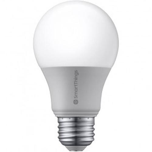 Samsung - LED light bulb - shape: A19 - E26 - 9 W - soft white light - 2700 K