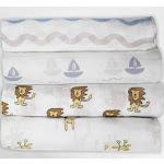 Muslin Organic Cotton Swaddle Blankets - 4 Pack Set | Organic Cotton Mart
