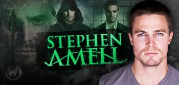 "Stephen Amell, <i>Oliver Queen/Arrow</i>, ""Arrow,"" Coming to Austin Comic Con!"