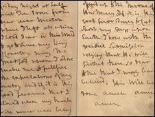 Book pages from the National Archives image copyrighted by the BBC
