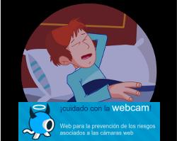 Fotograma de las animaciones de CuidadoConLaWebcam.com
