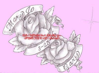 Memorable Roses Banner Tattoo Design In 2017 Real Photo Pictures