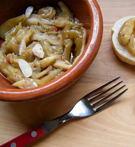 Recipe file pickled eggplant berenjenas en escabeche for Argentinean cuisine