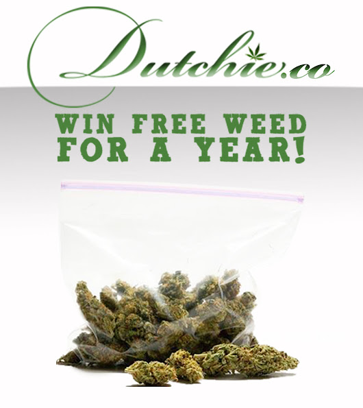 WIN FREE WEED FOR A YEAR!