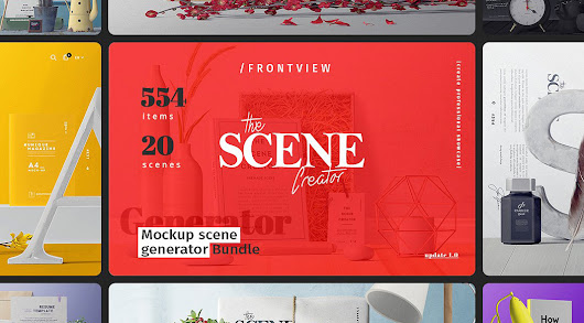 The Scene Creator Front View Items