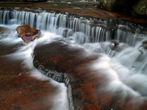 Collins Creek waterfall
