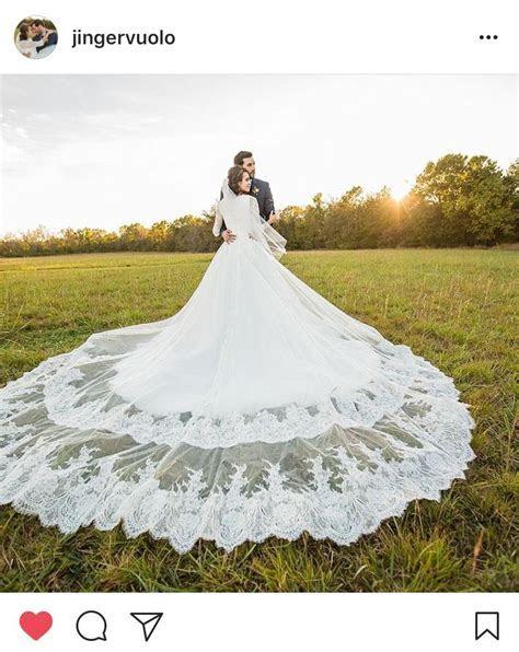 Jinger (Duggar) Vuolo's wedding dress   Jeremy, Ginger