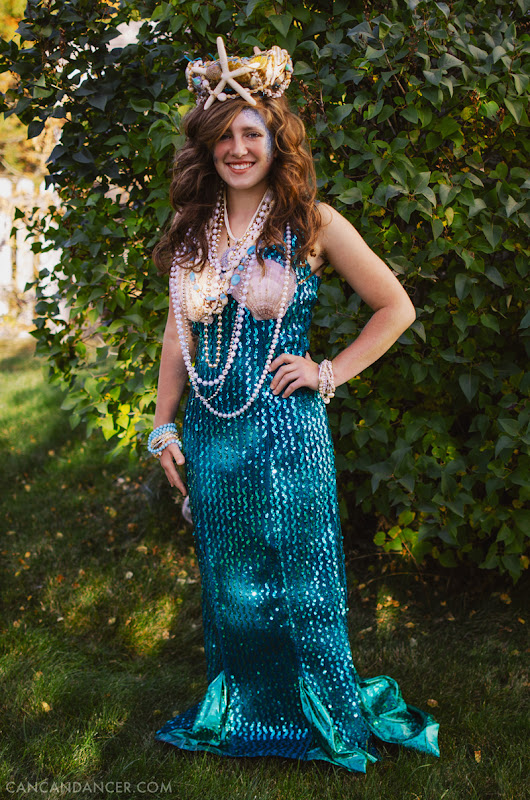 DIY Halloween Costume #2 – Mermaid | Can Can Dancer