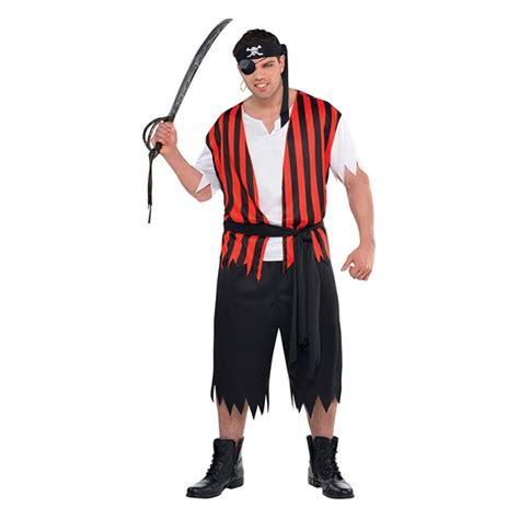 mens womens caribbean pirate captain halloween fancy dress