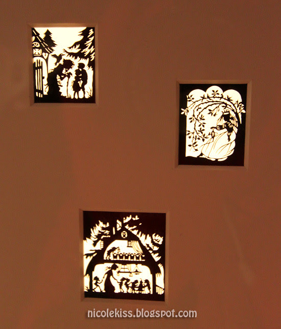 mini paper cutouts