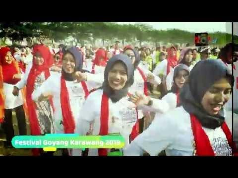 "Festival Goyang Karawang ""Art Of Harmony"" Pecahkan Rekor Muri"