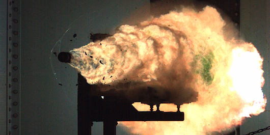 The Navy's going to test the rail gun's rapid fire as it moves closer to combat