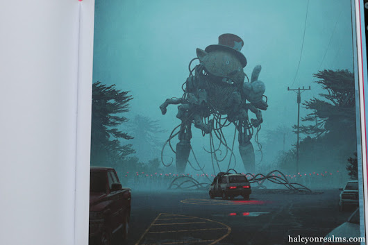 The Electric State - Simon Stålenhag Art Book Review - Halcyon Realms - Art Book Reviews - Anime, Manga, Film, Photography