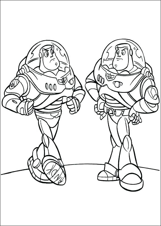 Buzz Lightyear Face Coloring Pages at GetColorings.com ...
