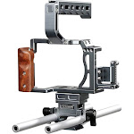 Sevenoak SK-A7C1 Pro Aluminum Cage with Top Handle, Shoe Mount and 15