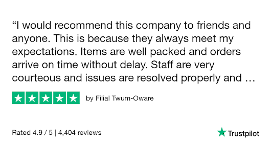 Filial Twum-Oware gave Eternal Collection 5 stars. Check out the full review...
