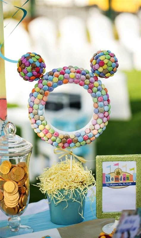 Kara's Party Ideas Disneyland themed birthday party via